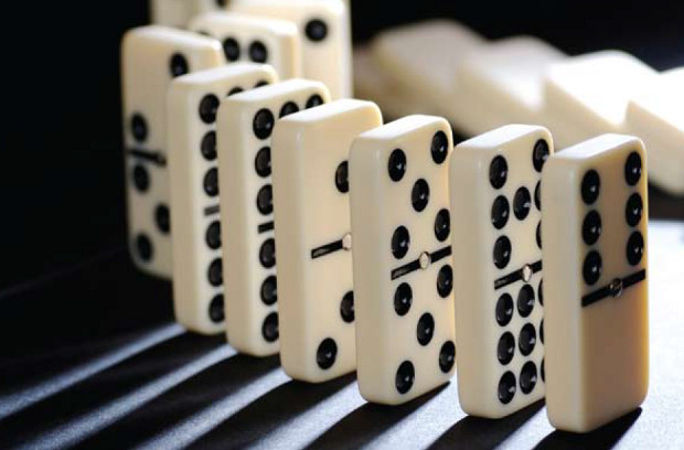 Eurozone instability: the domino effect